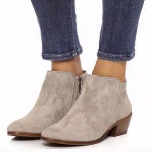 Sam Edelman Petty ankle boots. Size 6. Sand beige
